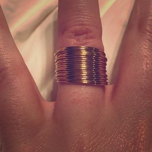 Jewelry - Gold stacked ring